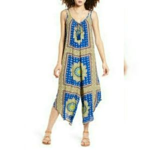 Band of Gypsies Juniors Printed Jumpsuit
